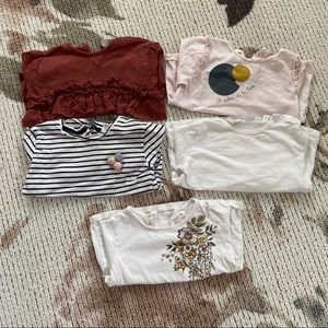 Zara baby bundle long sleeve shirts